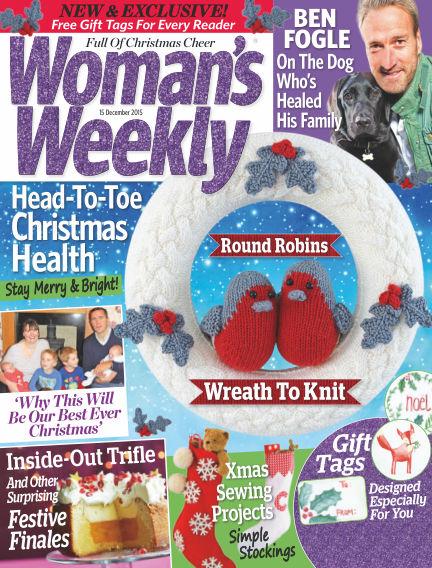 Woman's Weekly - UK December 16, 2015 00:00