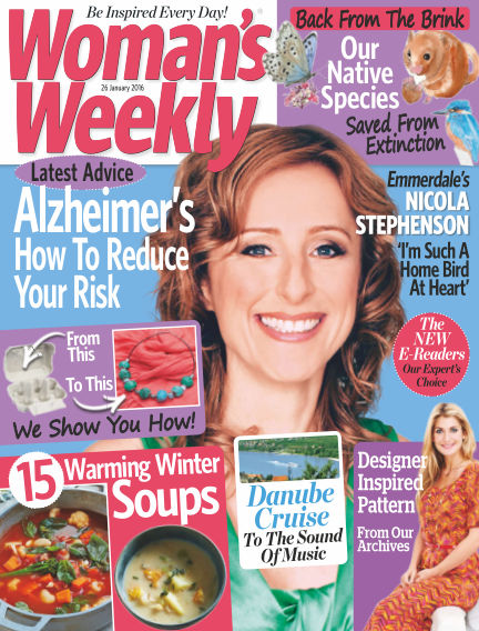 Woman's Weekly - UK January 27, 2016 00:00