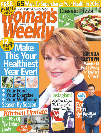 Woman's Weekly - UK February 17, 2016 00:00