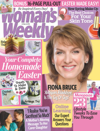 Woman's Weekly - UK 22nd March 2016