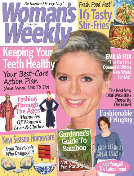 Woman's Weekly - UK April 20, 2016 00:00