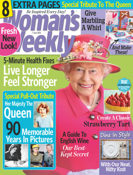 Woman's Weekly - UK June 01, 2016 00:00