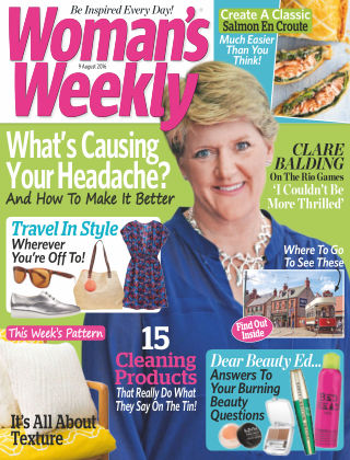 Woman's Weekly - UK 9th August 2016