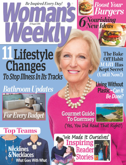 Woman's Weekly - UK August 17, 2016 00:00