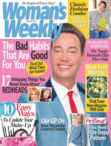 Woman's Weekly - UK August 24, 2016 00:00