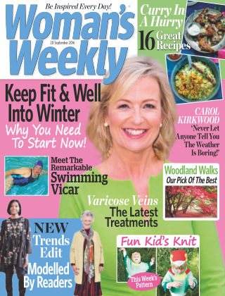 Woman's Weekly - UK 20th September 2016