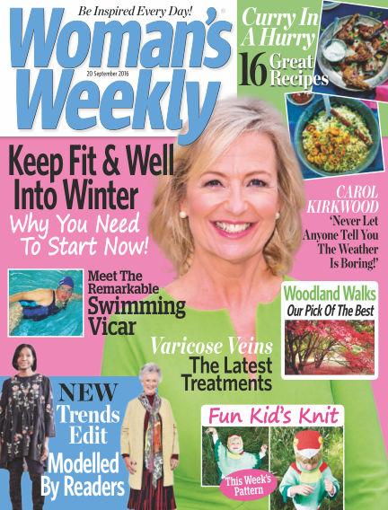 Woman's Weekly - UK September 14, 2016 00:00