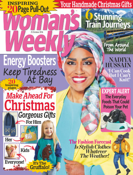 Woman's Weekly - UK October 19, 2016 00:00