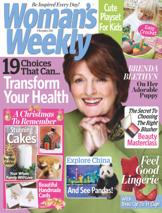 Woman's Weekly - UK 8th November 2016