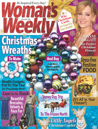 Woman's Weekly - UK 6th December 2016