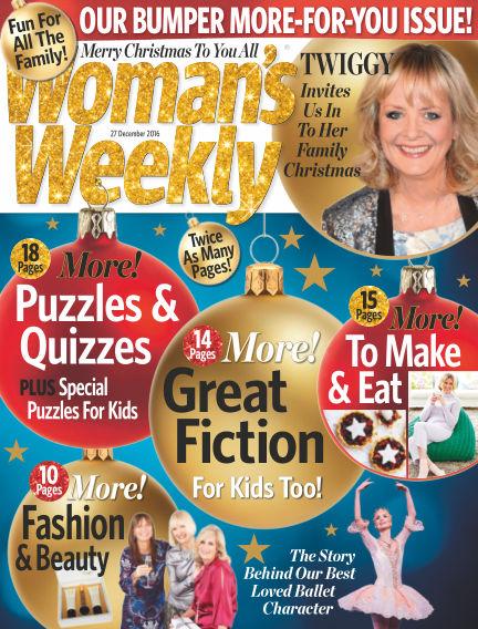 Woman's Weekly - UK December 14, 2016 00:00