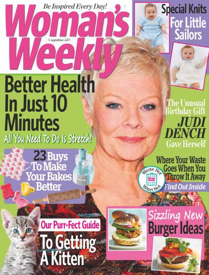 Woman's Weekly - UK August 30, 2017 00:00