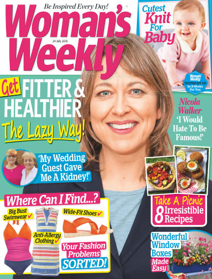 Woman's Weekly - UK July 18, 2018 00:00