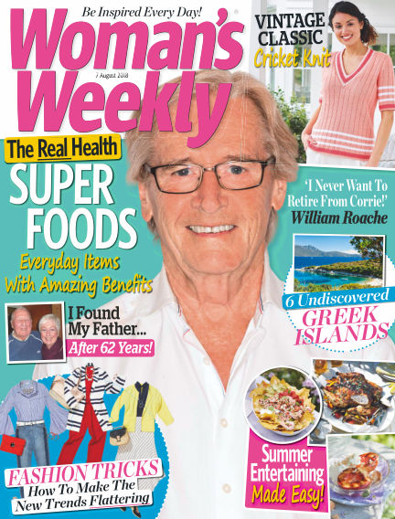Woman's Weekly - UK August 01, 2018 00:00