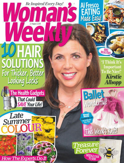 Woman's Weekly - UK August 15, 2018 00:00