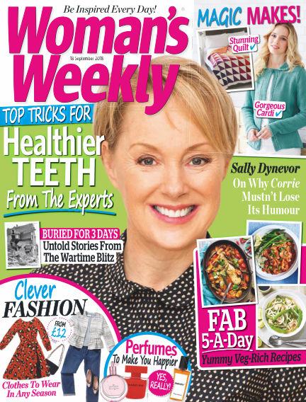 Woman's Weekly - UK September 12, 2018 00:00