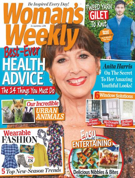 Woman's Weekly - UK September 19, 2018 00:00