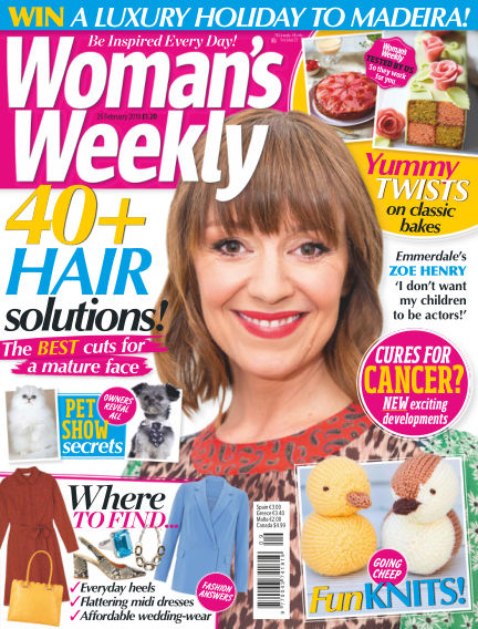 Woman's Weekly - UK February 20, 2019 00:00