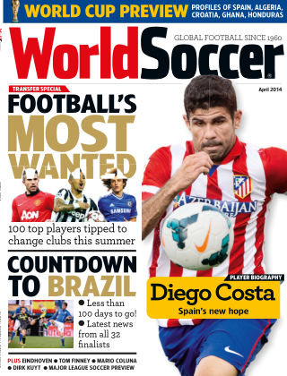 World Soccer April 2014