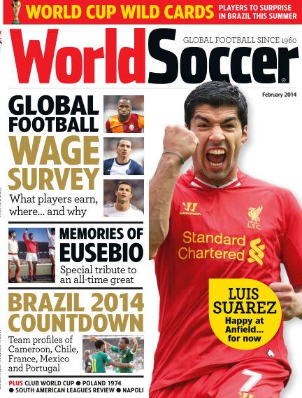 World Soccer February 14, 2014 00:00