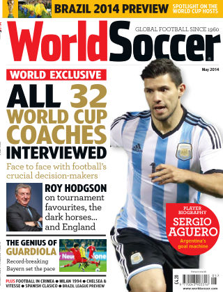 World Soccer May 2014