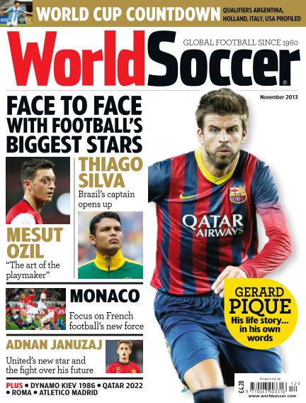 World Soccer November 15, 2013 00:00