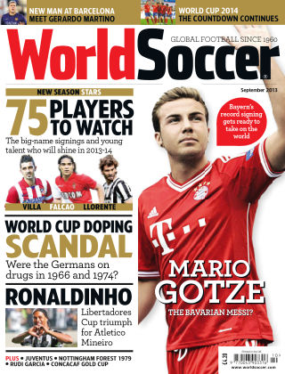 World Soccer September 2013