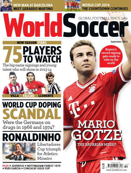 World Soccer September 20, 2013 00:00