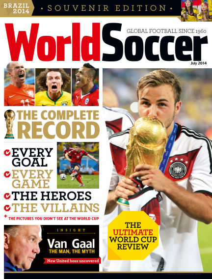 World Soccer August 12, 2014 00:00