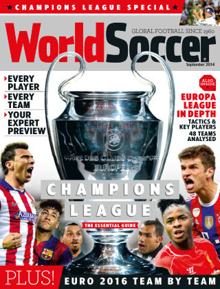 World Soccer September 2014