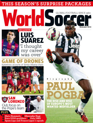 World Soccer November 2014
