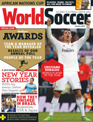 World Soccer January 2015