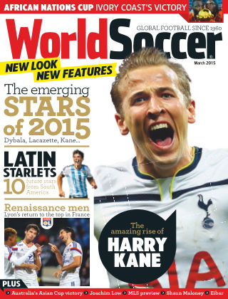 World Soccer March 2015