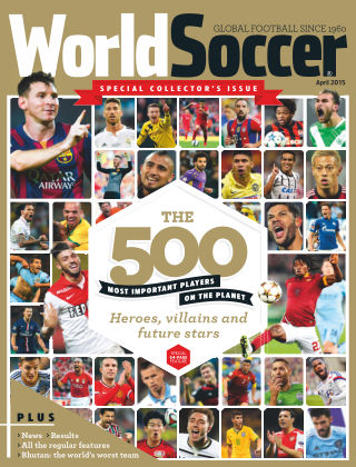 World Soccer April 2015