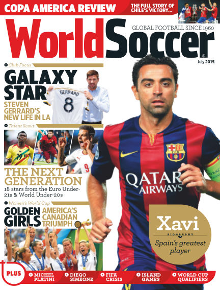 World Soccer August 14, 2015 00:00