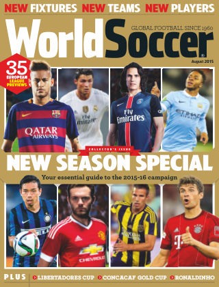 World Soccer August 2015