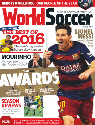 World Soccer January 2016