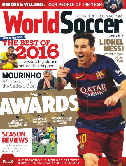 World Soccer January 29, 2016 00:00