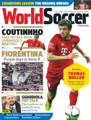 World Soccer February 2016