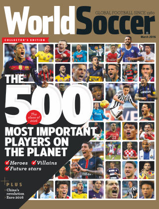 World Soccer March 2016