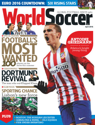 World Soccer April 2016