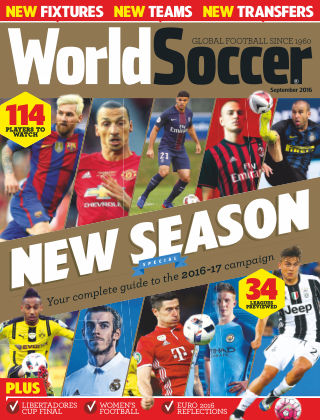 World Soccer September 2016