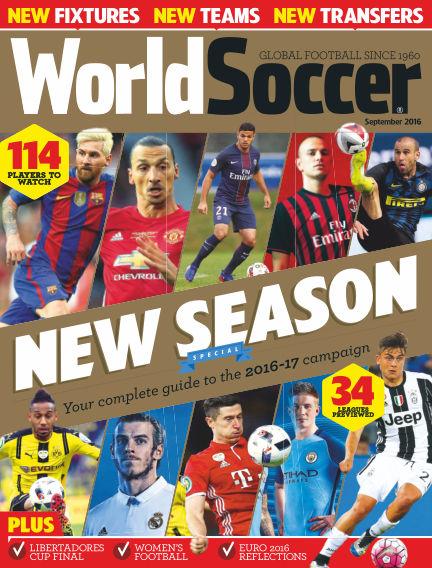 World Soccer August 12, 2016 00:00