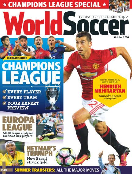World Soccer September 09, 2016 00:00