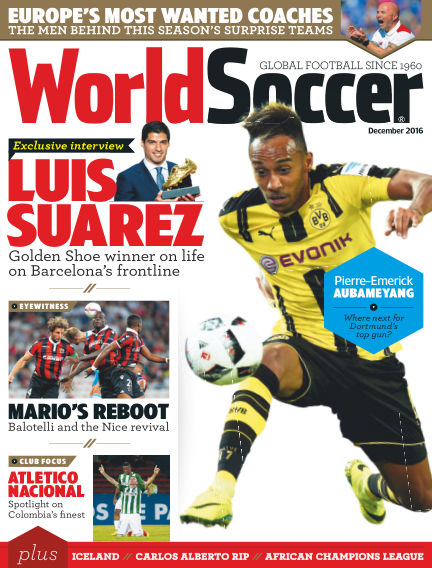 World Soccer November 04, 2016 00:00