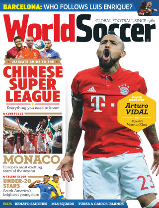 World Soccer April 2017