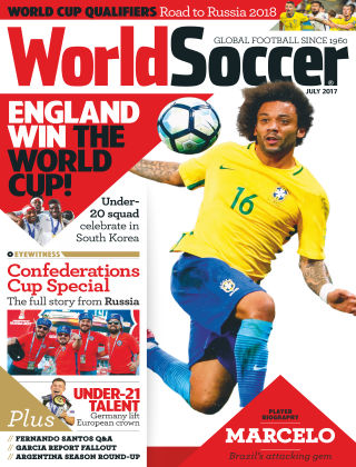 World Soccer Jul 2017