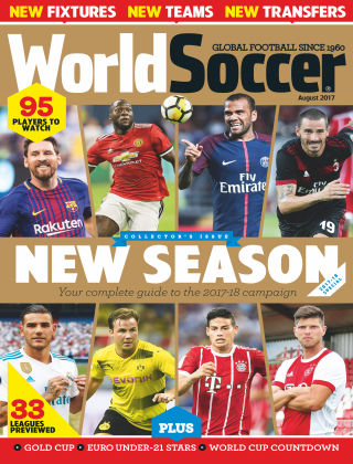 World Soccer Aug 2017