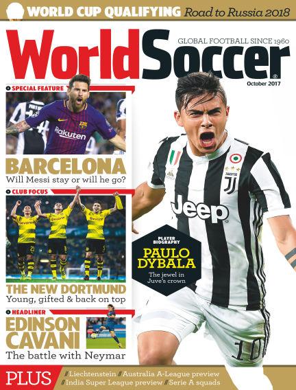 World Soccer October 06, 2017 00:00