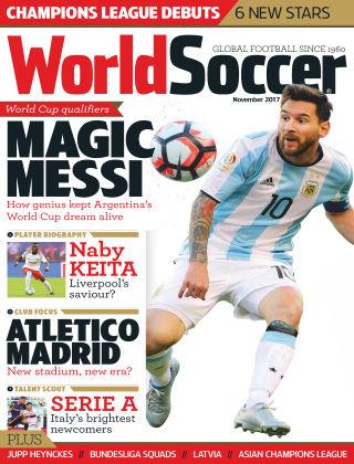 World Soccer Nov 2017